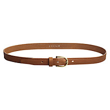 Buy Jigsaw Brogue Belt Online at johnlewis.com