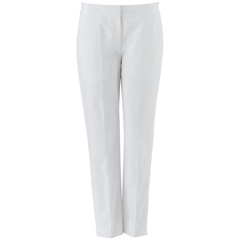 Buy Fenn Wright Manson Hannah Trousers, White Online at johnlewis.com