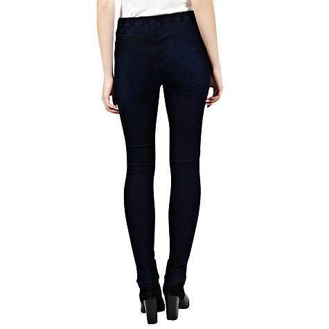 Buy Oasis Jessie Denim Jeggings, Indigo Online at johnlewis.com
