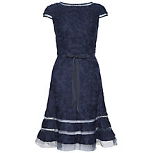 Buy Adrianna Papell Fit and Flare Lace Dress Online at johnlewis.com