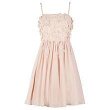 Buy Coast Vielle Dress, Blush Online at johnlewis.com