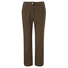 Buy CC Petite Animal Jeans, Khaki Online at johnlewis.com