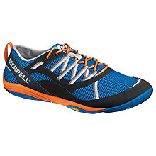Buy Merrell Men's Flux Glove Barefoot Running Shoes, Orange Online at johnlewis.com