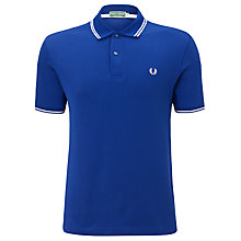 Buy Fred Perry Men's Twin Tipped Tennis Polo Shirt Online at johnlewis.com