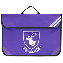 Buy Daiglen School Unisex Book Bag, Purple Online at johnlewis.com