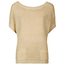 Buy Sandwich Fancy Knit Jumper, Beige Online at johnlewis.com
