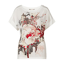Buy Sandwich Floral Printed T-Shirt Online at johnlewis.com