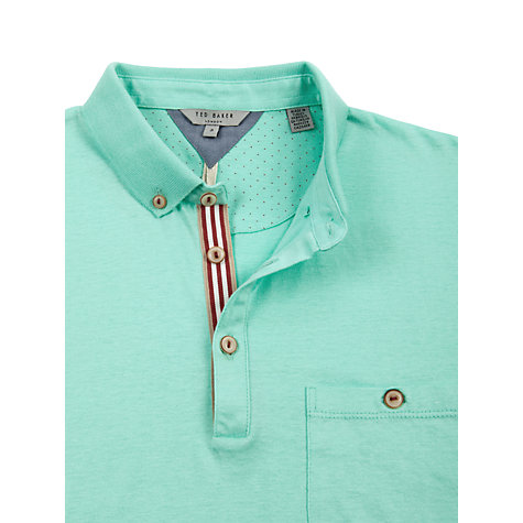 Buy Ted Baker Charlee Knitted Collar Polo Shirt Online at johnlewis.com