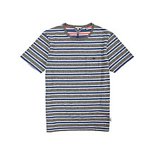 Buy Ted Baker Whatnow Stripe Short Sleeve T-Shirt Online at johnlewis.com