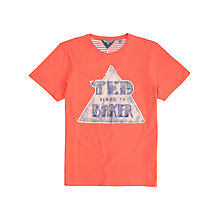 Buy Ted Baker Trideco Logo Short Sleeve T-Shirt Online at johnlewis.com