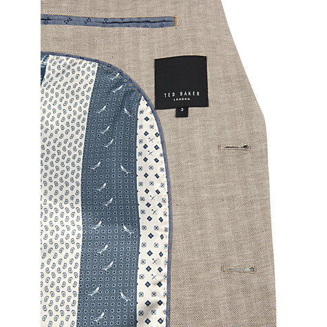 Buy Ted Baker Lupinn Herringbone Blazer Online at johnlewis.com