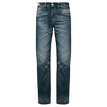 Buy Replay Newdoc Standard Straight Jeans, Blue Online at johnlewis.com