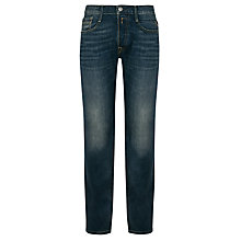 Buy Replay Billstrong Standard Straight Jeans, Mid Vintage Online at johnlewis.com