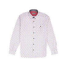 Buy Ted Baker Pastrip Printed Stripe Paisley Shirt Online at johnlewis.com