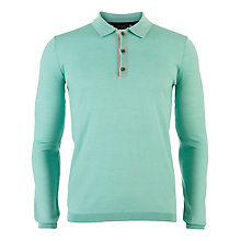 Buy Ted Baker Watzon Merino Knit Polo Shirt Online at johnlewis.com