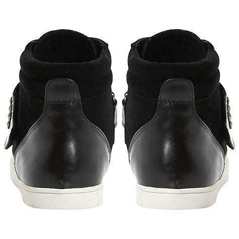Buy Dune Lumberjack Stud Detail Suede Leather Hi-Top Trainers Online at johnlewis.com
