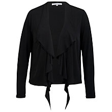 Buy Chesca Waterfall Jersey Shrug, Black Online at johnlewis.com