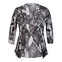 Buy Chesca Abstract Print Shrug, Black Online at johnlewis.com