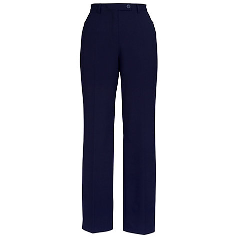 Buy Chesca Zip Pocket Trousers, Navy Online at johnlewis.com