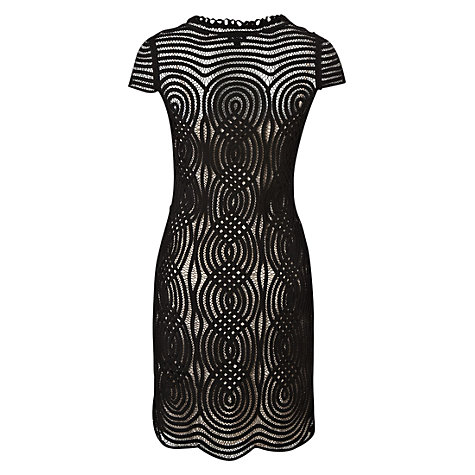 Buy Hobbs Hollywood Dress, Black Online at johnlewis.com