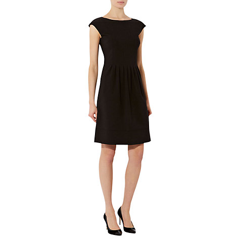 Buy Hobbs Robins Dress, Black Online at johnlewis.com