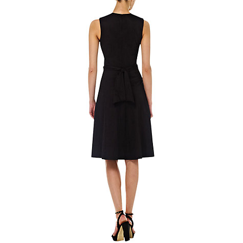 Buy Hobbs Twitchill Dress, Black Online at johnlewis.com