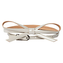 Buy Hobbs Hassop Belt, Pale Grey Online at johnlewis.com