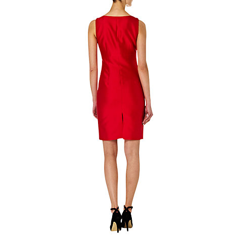 Buy Hobbs Fortuna Dress, Ruby Online at johnlewis.com