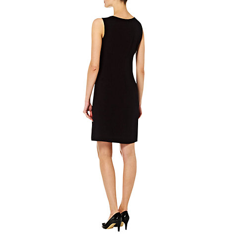 Buy Hobbs Bluebell Dress, Black/New Pebble Online at johnlewis.com