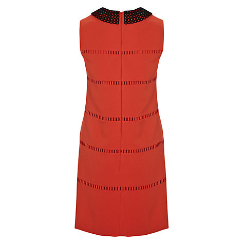 Buy Hobbs Ophelia Dress, Lava Online at johnlewis.com