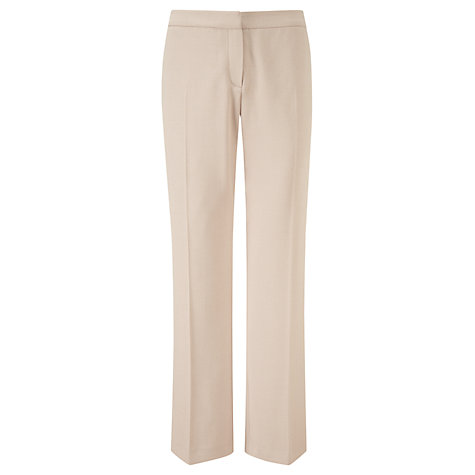 Buy Viyella Moss Crepe Trousers, Buff Online at johnlewis.com