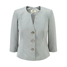 Buy Viyella Petite Ottoman Jacket, Ocean Online at johnlewis.com