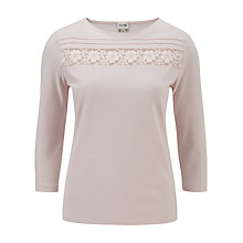 Buy Viyella Lace Insert Top Online at johnlewis.com