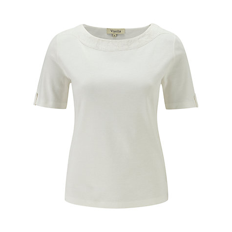 Buy Viyella Burnout Jersey Top Online at johnlewis.com
