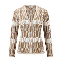 Buy Viyella Petite Striped Cardigan Online at johnlewis.com