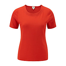 Buy Viyella Petite Stitch Trim Top Online at johnlewis.com