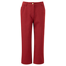Buy Viyella Cropped Smart Jeans, Pimento Online at johnlewis.com