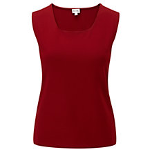 Buy Viyella Smart Vest Top, Pimento Online at johnlewis.com