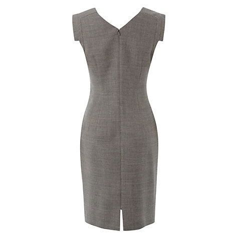Buy Hobbs Millbank Dress, Dove Ivory Online at johnlewis.com