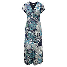 Buy CC Paisley Print Jersey Dress, Multi Online at johnlewis.com