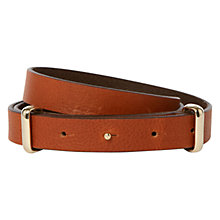 Buy Hobbs Datchworth Belt, Tan Online at johnlewis.com