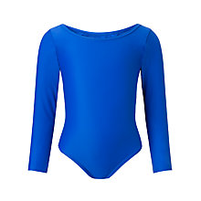 Buy St Michael's Church of England Preparatory School Girls' Leotard, Royal Blue Online at johnlewis.com
