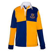 Buy St Michael's Church of England Preparatory School Unisex Rugby Jersey, Royal Blue/Amber Online at johnlewis.com