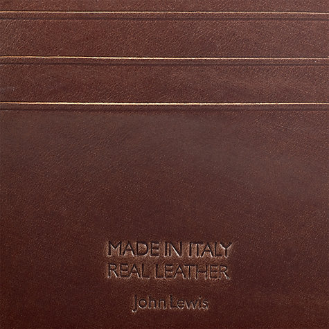 Buy John Lewis Made in Italy Leather Wallet Online at johnlewis.com