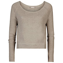 Buy Sandwich Boxy Jumper, Soft Grey Online at johnlewis.com