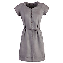 Buy Sandwich Dyed Linen Dress, Steel Grey Online at johnlewis.com