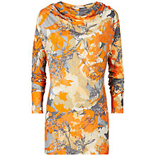 Buy Sandwich Spring Flower Tunic Top, Mandarin Online at johnlewis.com