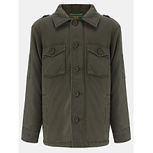 Buy John Lewis Boy Army Jacket, Khaki Online at johnlewis.com
