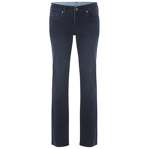 Buy White Stuff Penny Denim Jeans, Long Length, L84cm, Denim Blue Online at johnlewis.com
