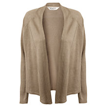 Buy East Ladder Stitch Cardigan, Jute Online at johnlewis.com